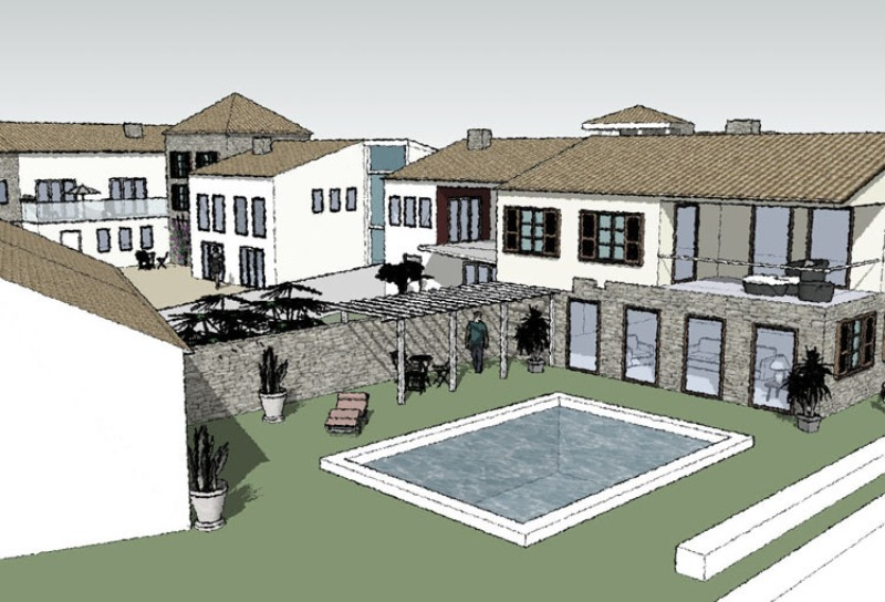 visnjan-housing-sketchup-7