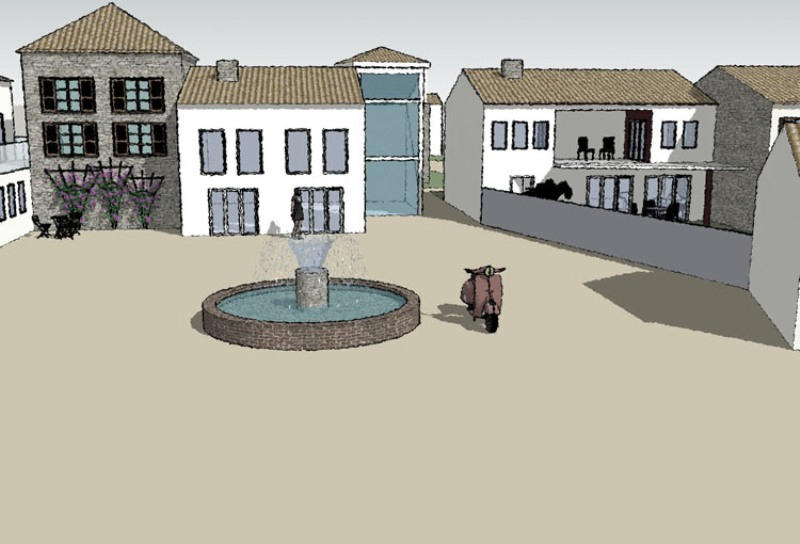 visnjan-housing-sketchup