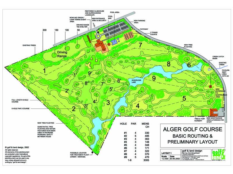 Alger Golf Course