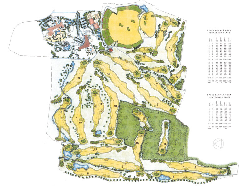 Reiters Golf Country Club Bad Tatzmannsdorf PLAN