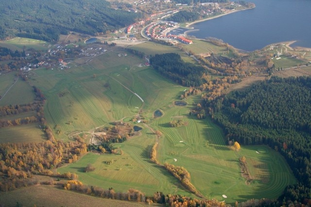 lipno-golf-club aerial