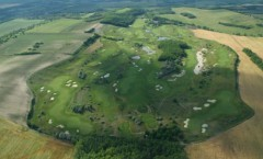 pannonia golf resort aerial