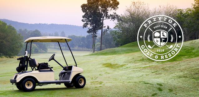 przytok logo and cart