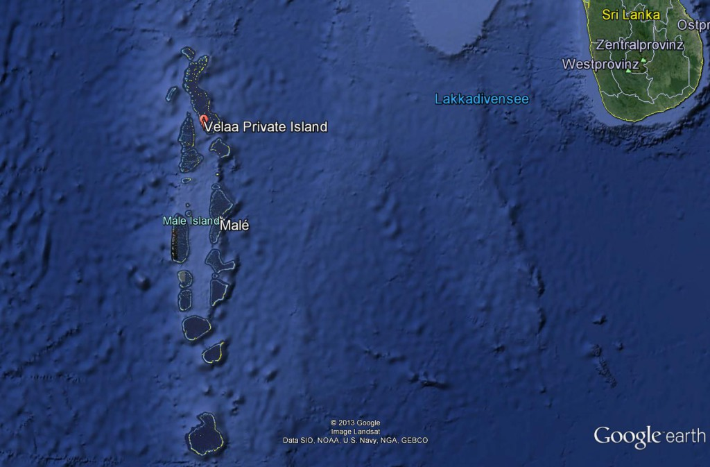Velaa Private Island - Map