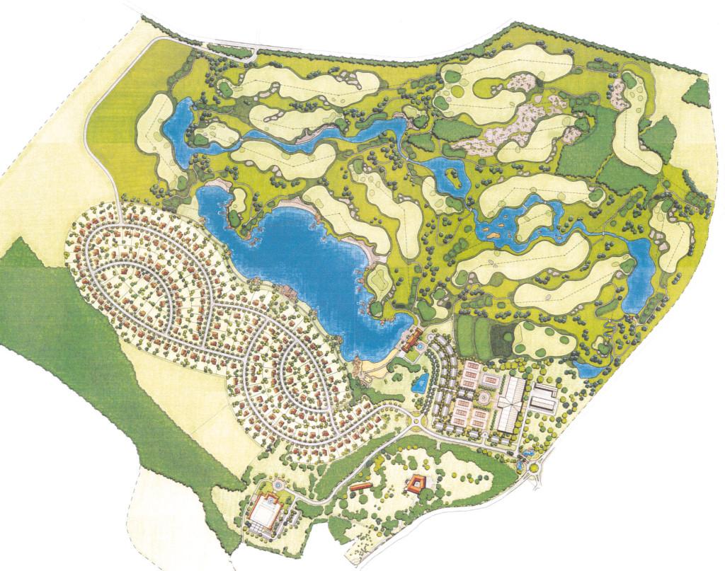 GLD Fontana Resort Masterplan